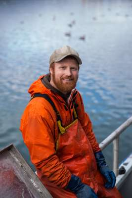 Chad Poppe, skipper  of the 'Lady Leona'