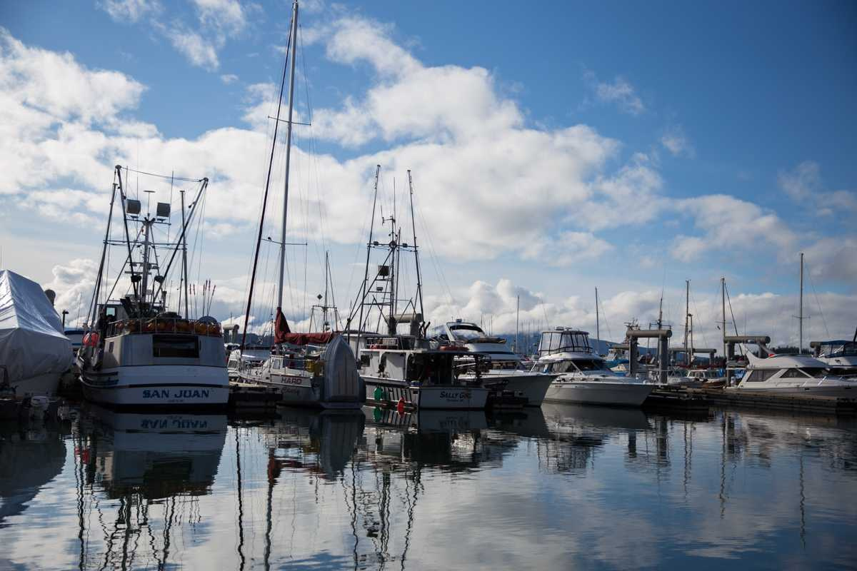 Calm day at Auke Bay