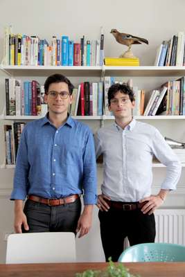 Brothers Dimitris and Konstantinos Karampatakis, founders of K-Studio