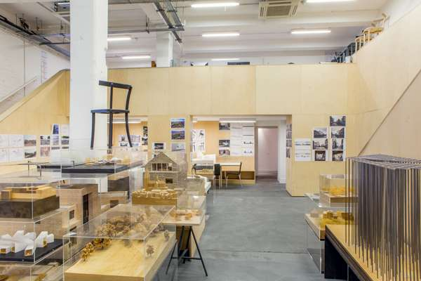 Model-making is an integral part of UK architecture firm Carmody Groarke's design process