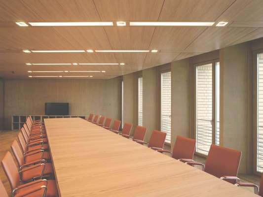 Meeting room in the administrative and conference annex