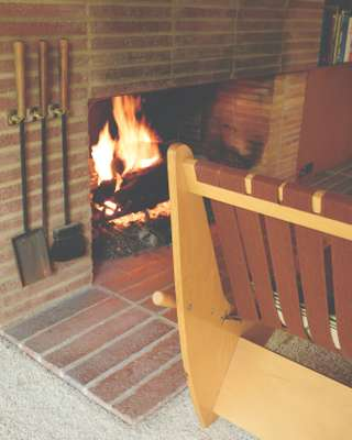 Brick hearth