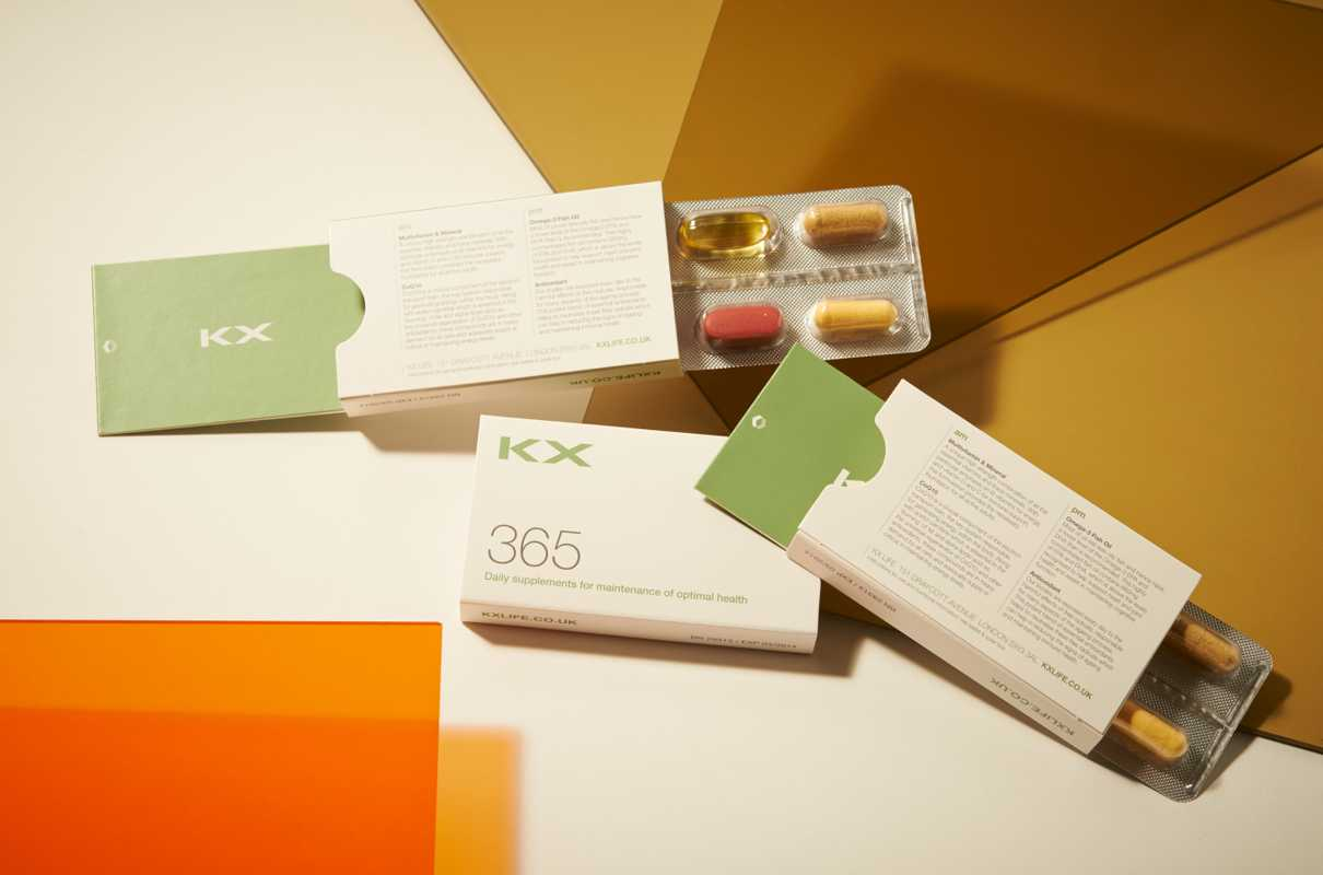 KX 365, Vitamins and supplements
