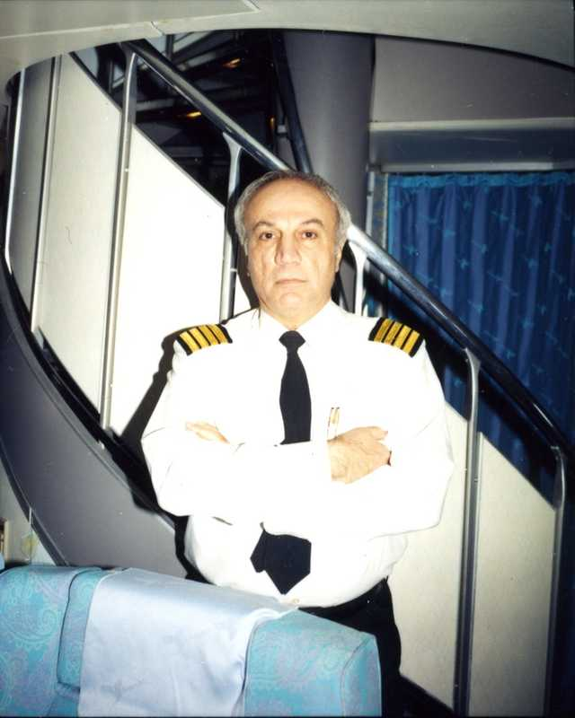 Captain James Farrahi