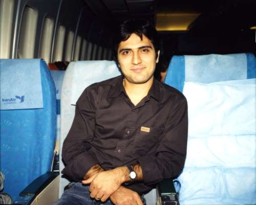 Passenger Kayvan, an employee of Samand, Iran's national car company