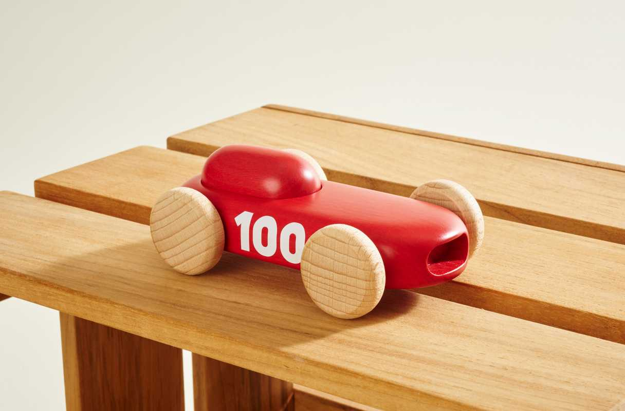 Wooden car by Permafrost