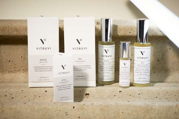 Aromatherapy oils and sprays, Vitruvi
