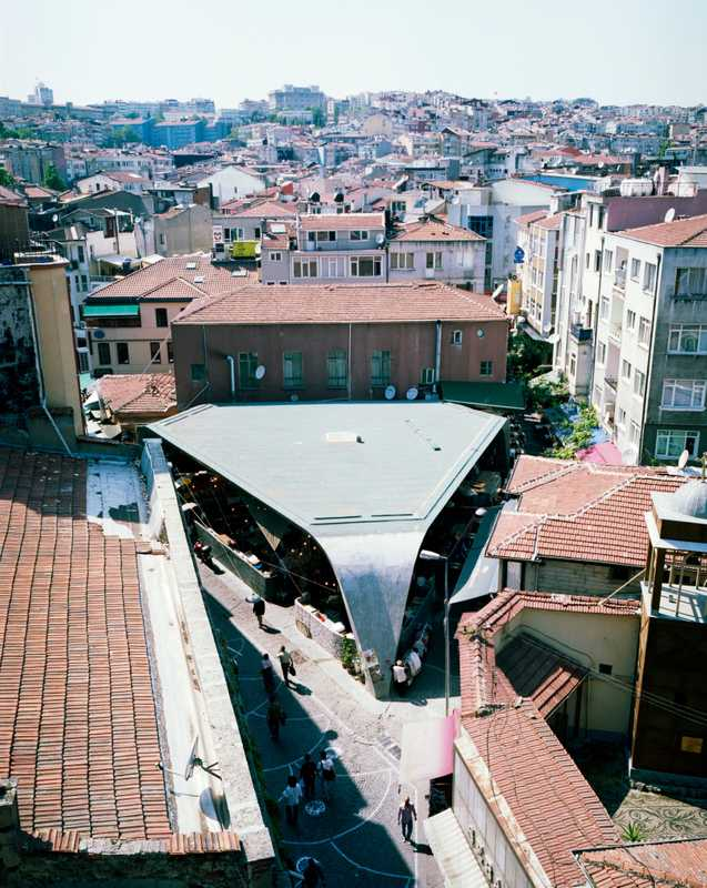 The modern Besiktas Fish Market by GAD Architects