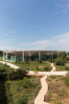 The Camp, designed by Provence-based architecture firm Corinne Vezzoni & Associés