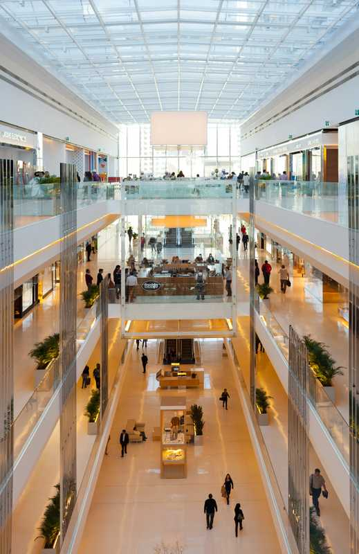 Main atrium at JK Iguatemi