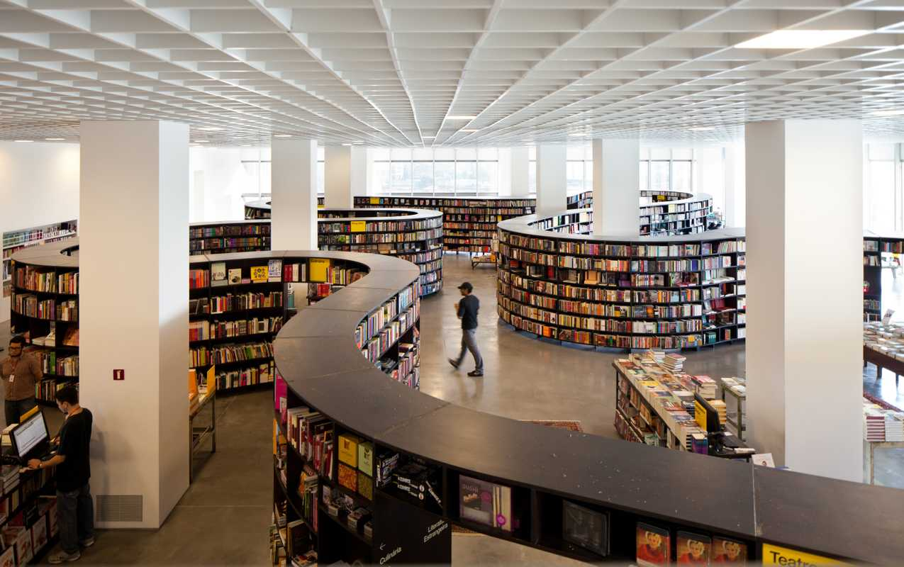Brazilian malls are cultural spaces, with contemporary art and good bookshops