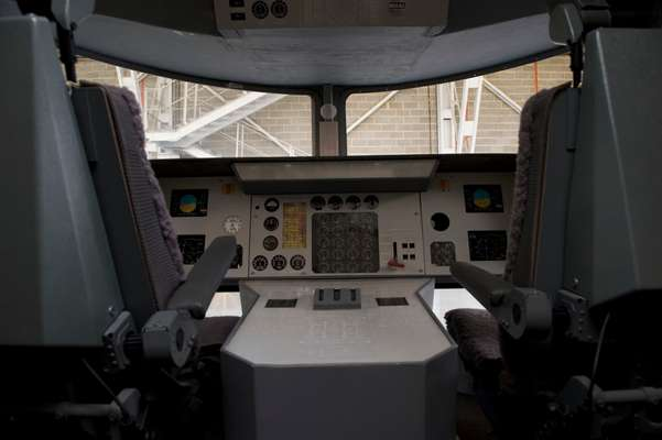 Pilot controls are relatively simple