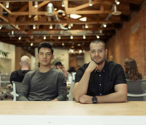 Daehee Park (left) and JT Marino, founders of T&N