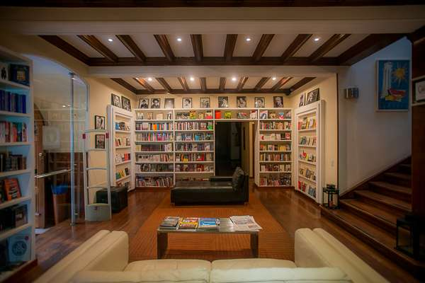 La Madriguera del Conejo bookshop in The Book Hotel lobby