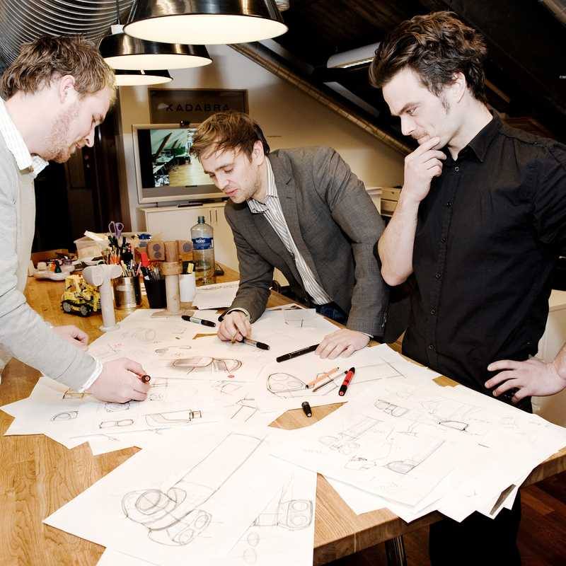 Founders of industrial design firm Kadabra