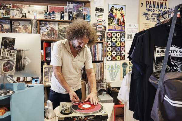 Chris Gill, owner of Northside Records