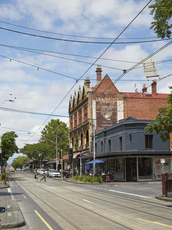 Gertrude Street itself