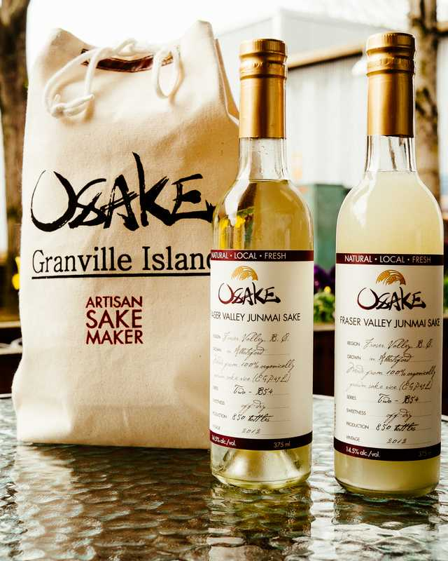 Artisan Sake Maker's Osake-branded products
