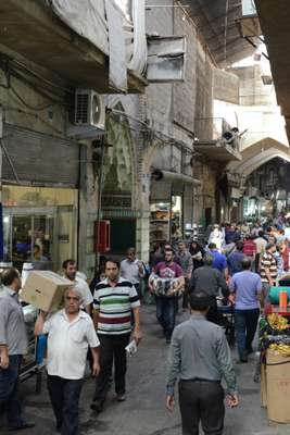 Another busy day in the Grand Bazaar