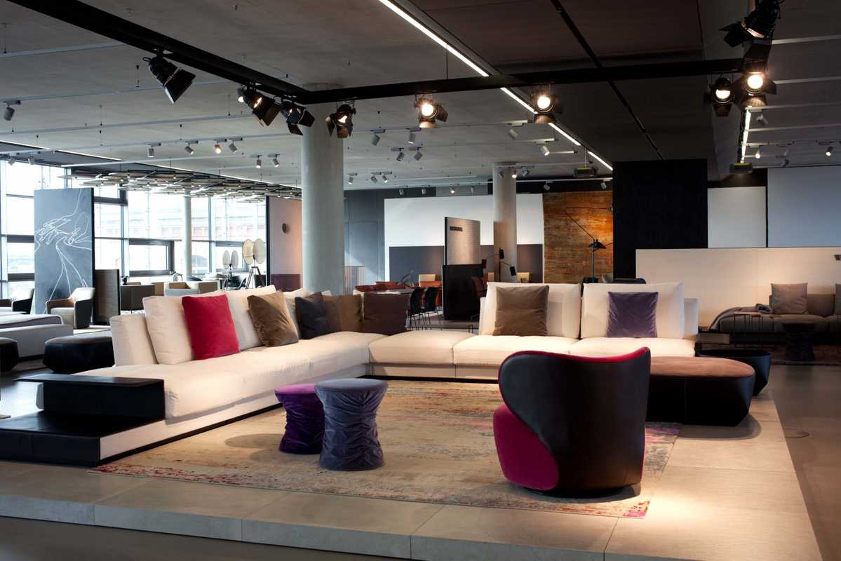 Walter Knoll furniture showroom