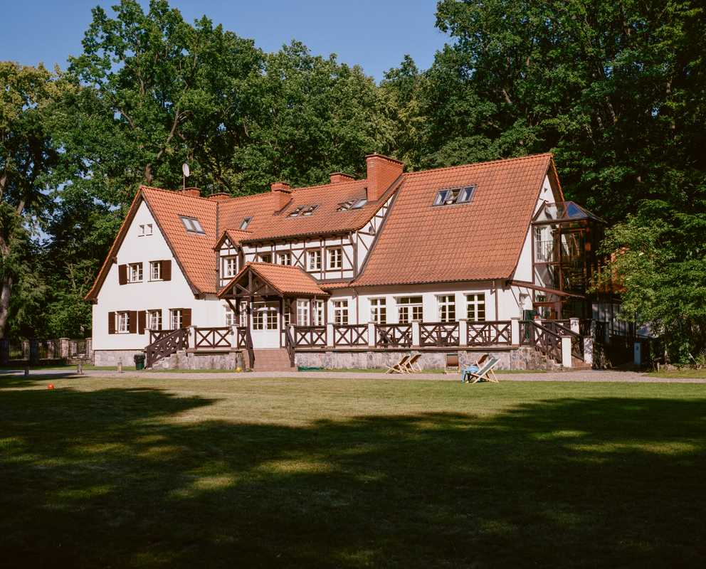 Main building as seen from the grounds