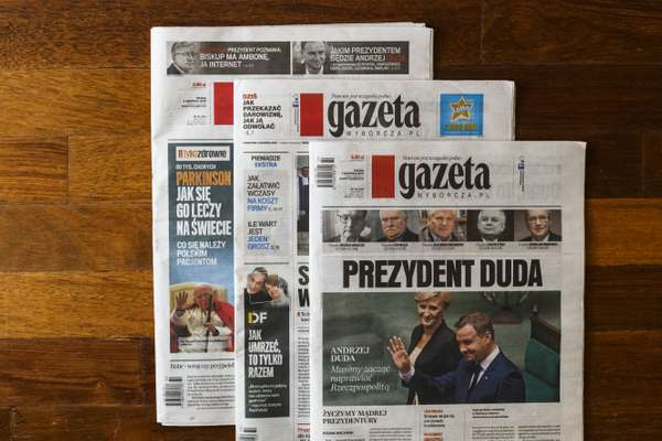 Fresh issues of 'Gazeta Wyborcza'