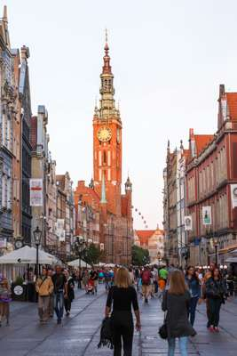 Gdansk city centre