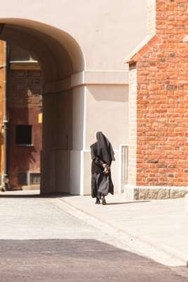Nun in Old Town