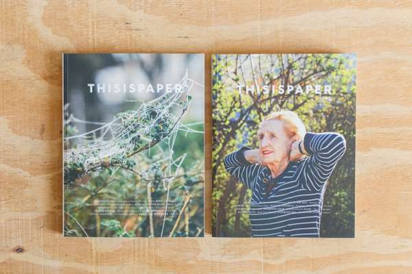 First two issues of Thisispaper