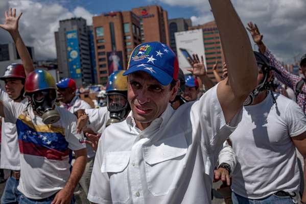 Henrique Capriles was barred from running for president