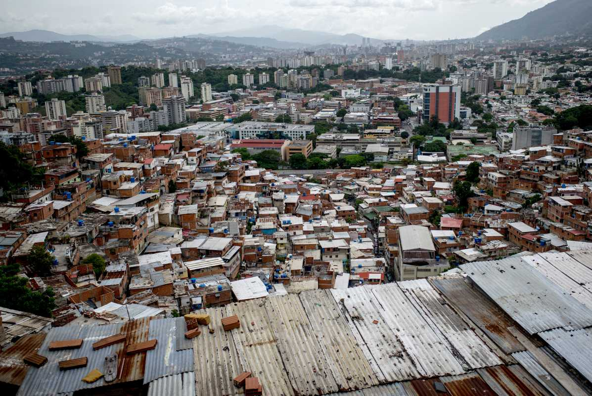 Caracas, a city of unrest
