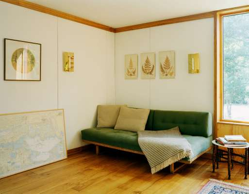 The living room with Børge Mogensen sofa