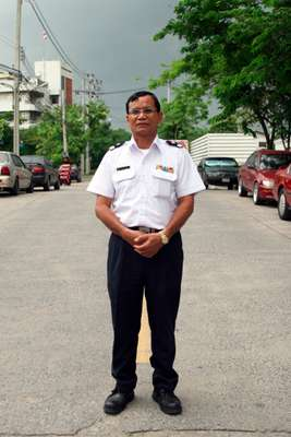Prasat Sutthowa, a bus driver who heads the RDCK group