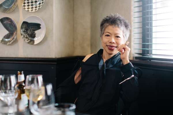Broadcaster Lee Lin Chin
