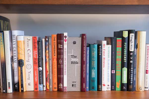 Bill Hearn's book collection