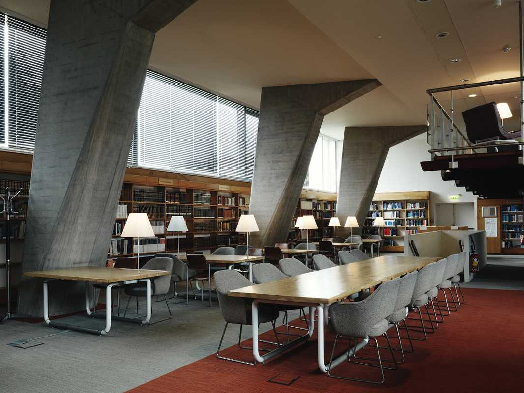 Library on ground floor