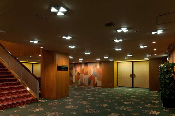 The banqueting rooms in the main wing, popular for weddings and conferences
