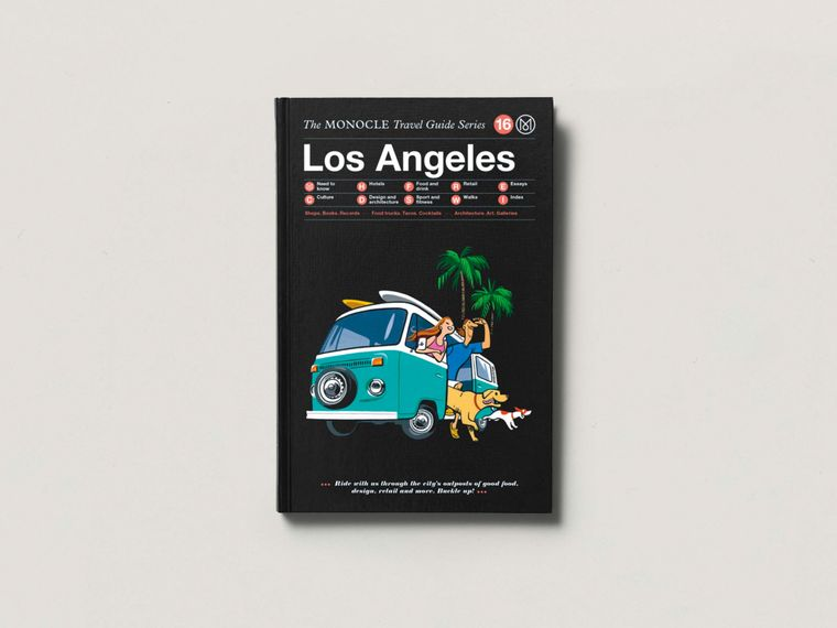 The monocle travel guide los angeles books shop monocle for Los angeles vacation guide