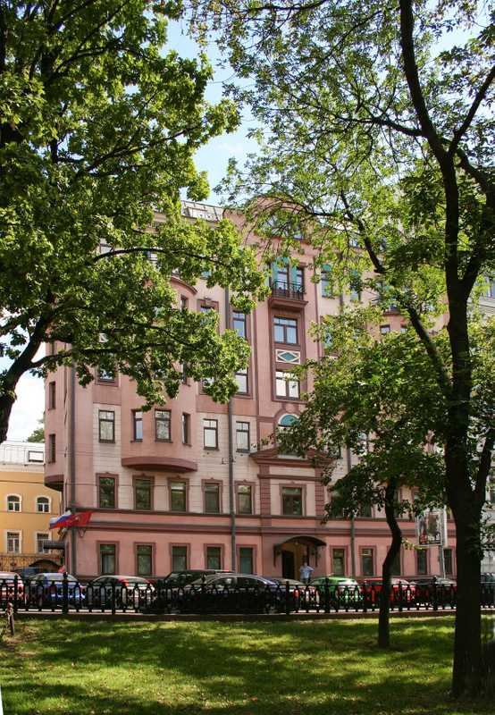 The magazine's Moscow headquarters
