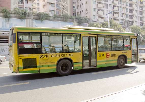 Dongguan city bus