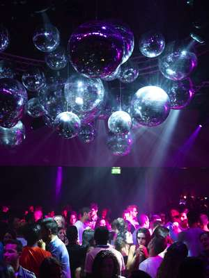 Dancing the night away at the Copacabana nightclub