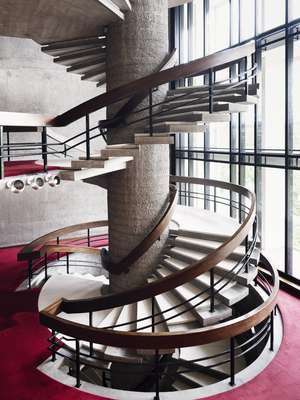 The signature staircase