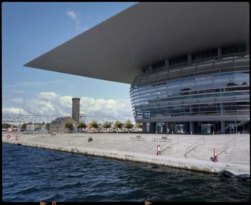 Copenhagen Opera House, donated by the AP Møller Foundation