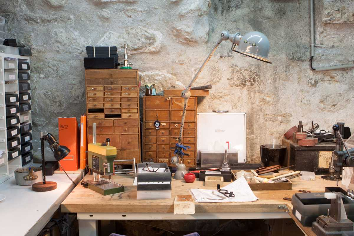 The basement atelier
