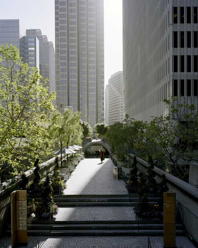 The city streets are increasingly green