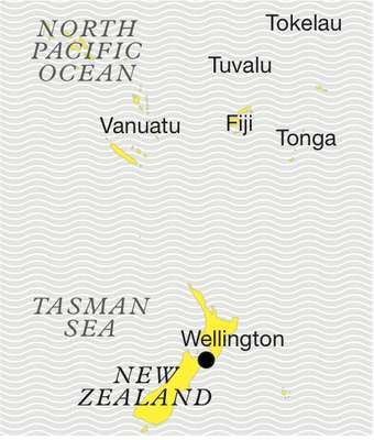 North Pacific Ocean map