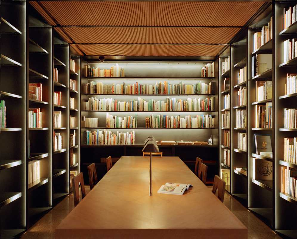 Reference library in Marrakech