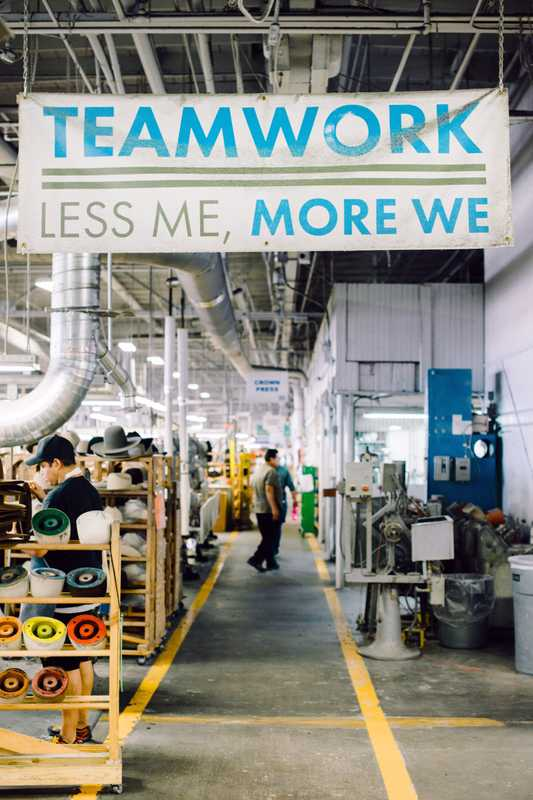 Collaboration is encouraged at the Hatco factory