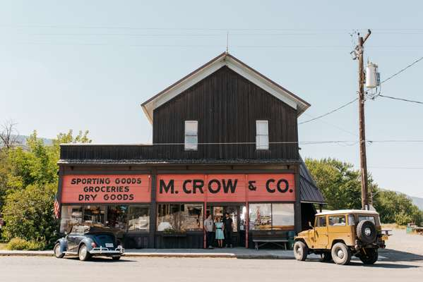 Exterior of M Crow