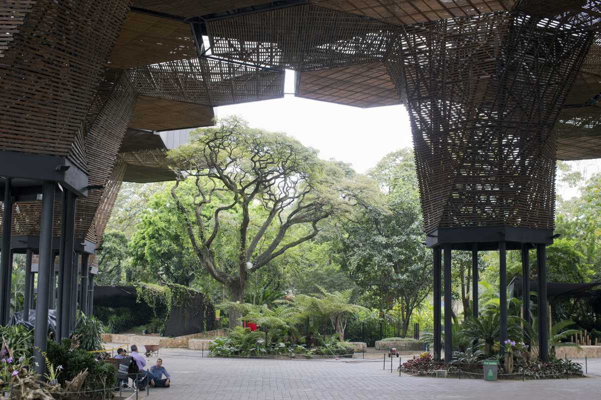 The Orquideorama botanical garden